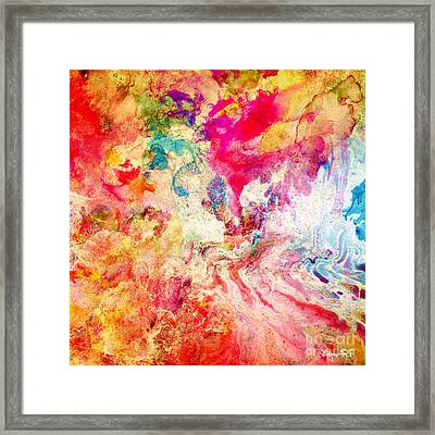Love Framed Print by Donika Nikova