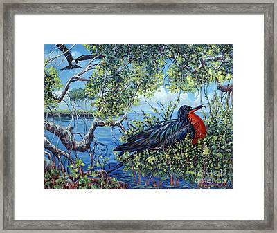 Love Found Framed Print by Danielle  Perry