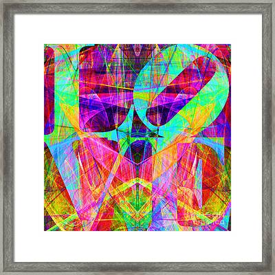Love Fractals 20130707 Framed Print by Wingsdomain Art and Photography