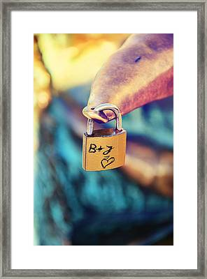 Love Framed Print by Gynt