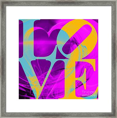 Love Heart 20130707 V1 Framed Print by Wingsdomain Art and Photography
