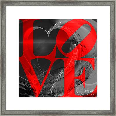 Love Heart 20130707 V1b Framed Print by Wingsdomain Art and Photography