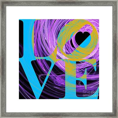 Love Heart 20130707 V2 Framed Print by Wingsdomain Art and Photography