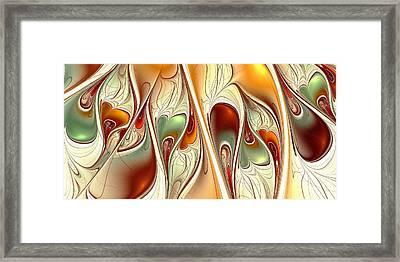 Love Is All Around Framed Print by Anastasiya Malakhova