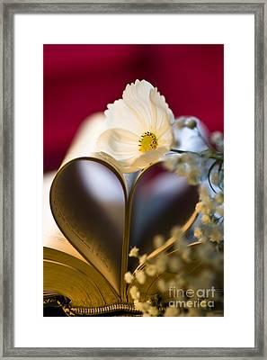 Love Is All Around Framed Print by Jan Bickerton