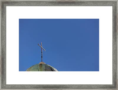 Love Is All You Need.. Framed Print by A Rey