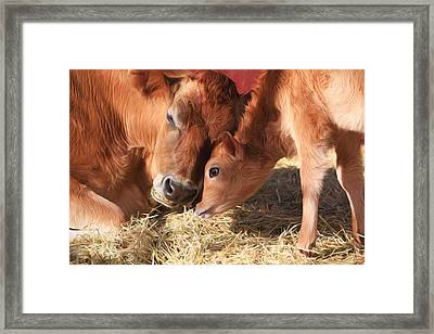 Love Is All You Need Framed Print by Donna Kennedy