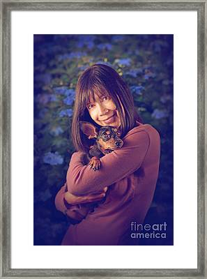 Love Is Framed Print by Danilo Piccioni