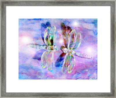 Love Is In The Air  Framed Print by Danielle  Parent