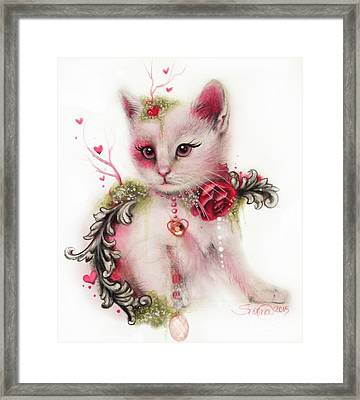Love Is In The Air Framed Print by Sheena Pike