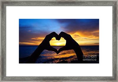 Love Framed Print by Isabelle Kuehn