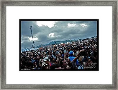 Love It Live Framed Print by Matthew Heller