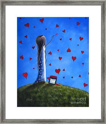 Love Letters By Shawna Erback  Framed Print by Shawna Erback