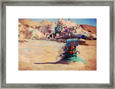 Love Letters Framed Print by Laurie Search