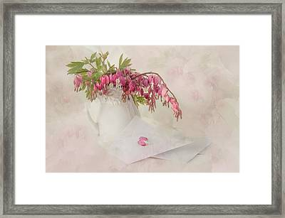 Love Letters Framed Print by Robin-lee Vieira