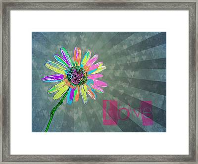 Love Framed Print by Marianna Mills