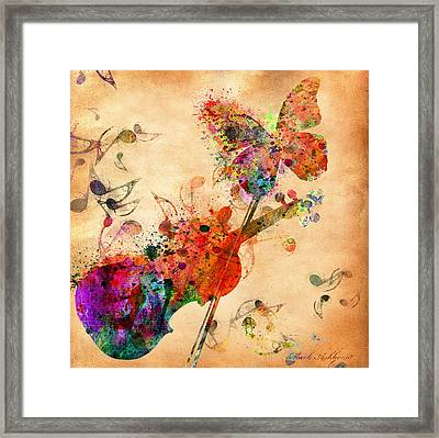 Love Music  Framed Print by Mark Ashkenazi
