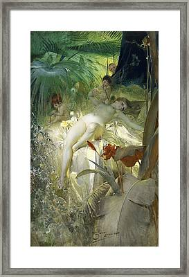 Love Nymph Framed Print by Anders Zorn
