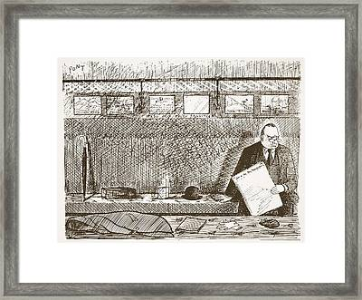 Love Of Travelling Alone, Illustration Framed Print by Pont