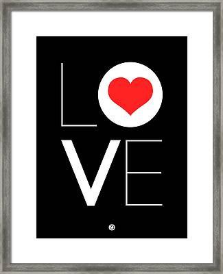Love  Poster 7 Framed Print by Naxart Studio