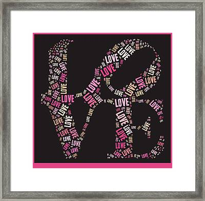 Love Quatro - S08a Framed Print by Variance Collections