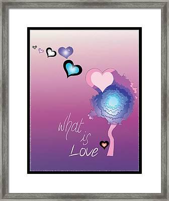 Love Framed Print by Sara Ponte