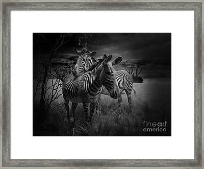 Love Season IIi - African Dream I Framed Print by Xueling Zou