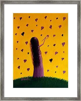 Love Framed Print by Shawna Erback