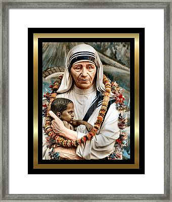 Love To The Rescue 2 Framed Print by Karen Showell