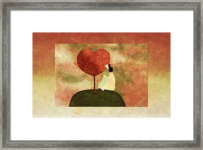 Love Tree -01b Framed Print by Variance Collections