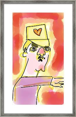 Love Tyrant Framed Print by Cary Hungerford