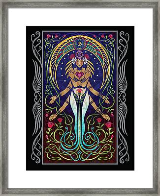 Love V.2 Framed Print by Cristina McAllister
