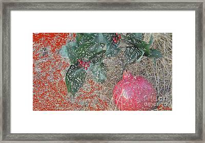 Love You Forever Framed Print by Feile Case