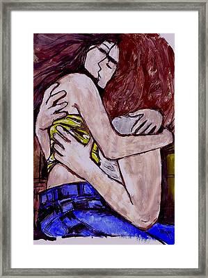 Love You So Framed Print by Mirko Gallery