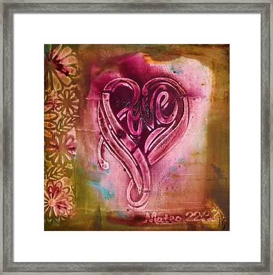 Love Your Self Framed Print by Ivan Guaderrama Art Gallery