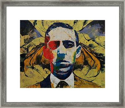 Lovecraft Framed Print by Michael Creese
