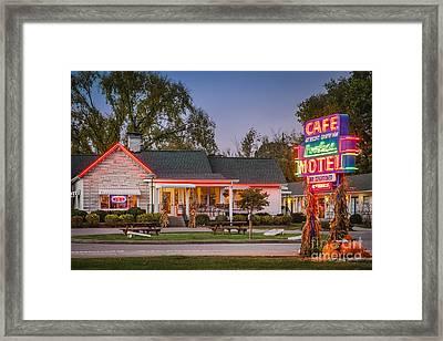 Loveless Cafe Framed Print by Brian Jannsen