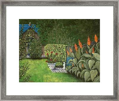 Lovely Green Framed Print by Anastasiya Malakhova