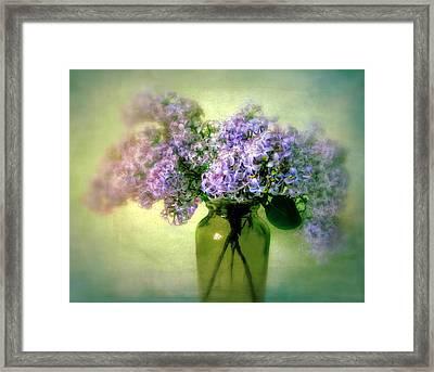 Lovely Lilac  Framed Print by Jessica Jenney