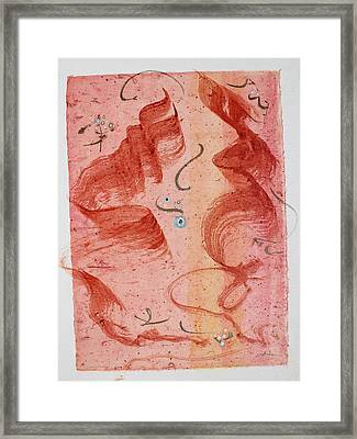 Lovers Dancing Framed Print by Asha Carolyn Young