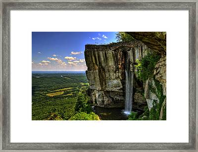 Lover's Leap Framed Print by Greg and Chrystal Mimbs