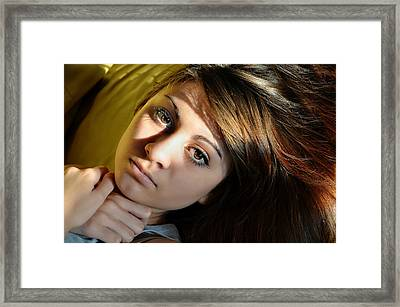 Love And Light Framed Print by Laura Fasulo