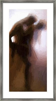 Lovers Framed Print by Stefan Kuhn