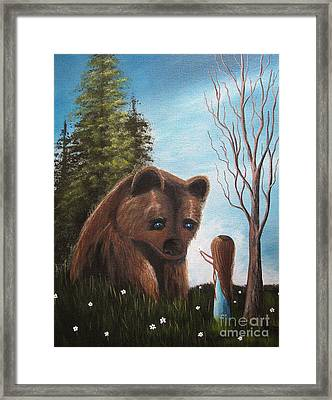 Loving All God's Creatures By Shawna Erback Framed Print by Shawna Erback