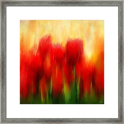 Loving Memories Framed Print by Lourry Legarde