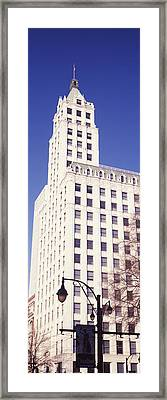 Low Angle View Of A Building, Lincoln Framed Print by Panoramic Images