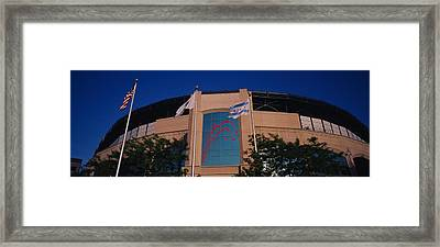 Low Angle View Of A Building, U.s Framed Print by Panoramic Images
