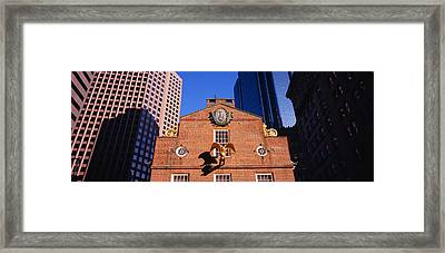 Low Angle View Of A Golden Eagle Framed Print by Panoramic Images