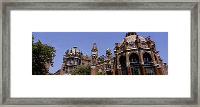 Low Angle View Of A Hospital, Hospital Framed Print by Panoramic Images