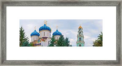 Low Angle View Of A Monastery, Trinity Framed Print by Panoramic Images
